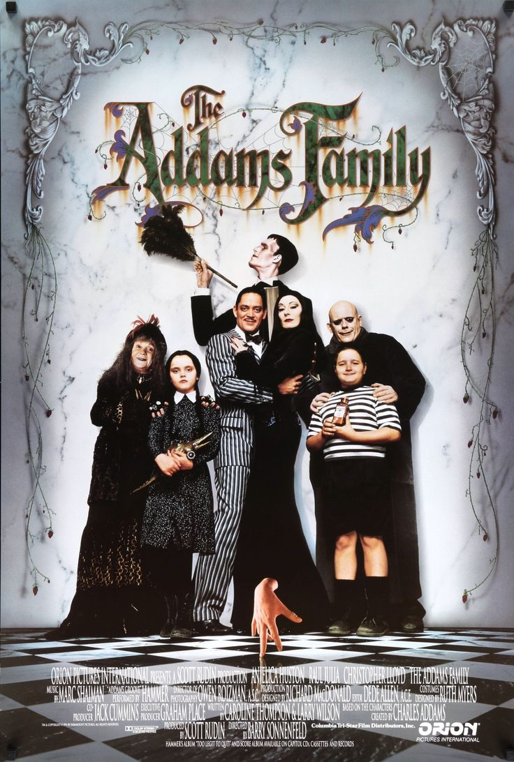 Home gt artificial florals gt holidays gt 60 quot poinsettia amp berry garland - Film The Addams Family 1991 Year Poster Printed 1991 Country Usa