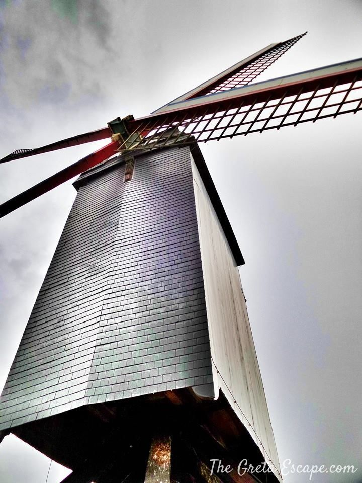 Windmill in Bruges