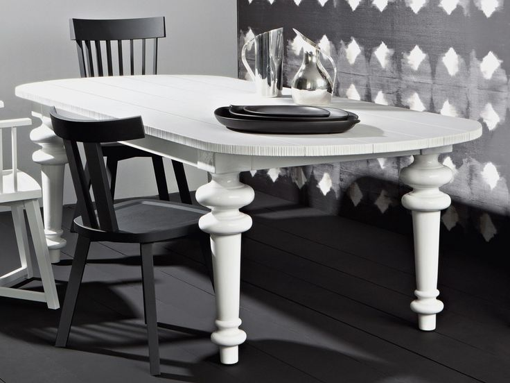 Table à manger ovale GRAY 37 by Gervasoni design Paola Navone