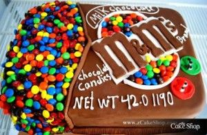 how clever!!///mmmm i love m's!