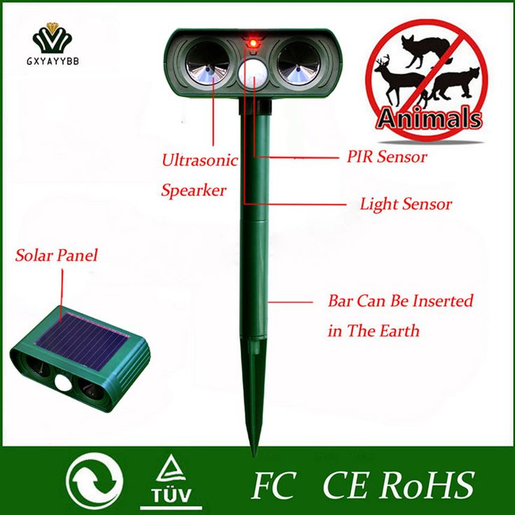 Free Shipping] Buy Best Hot Tech Animal Repeller Solar