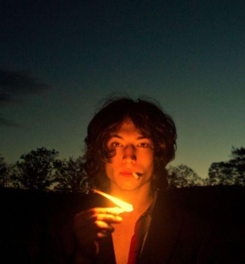 smokingcelebs:   Ezra Miller - Fashion Ghosts