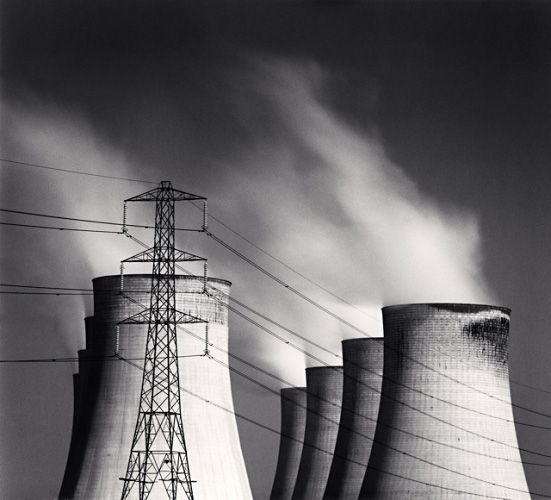 Michael Kenna: Wires Crossed, Existential American, Michael Kenna, Crane Adoration