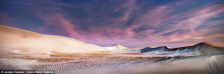Lonely planet: The sand dunes for almost 50 miles along the Western Australian coast and c...