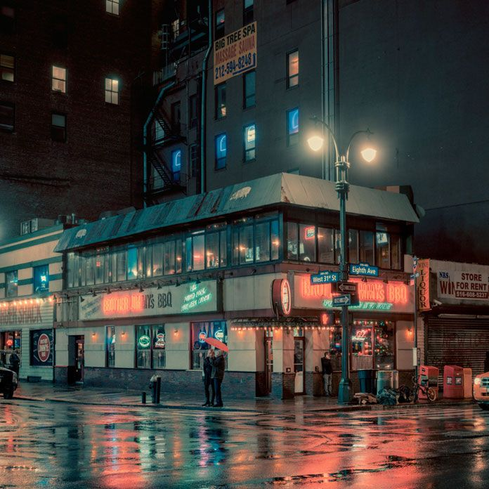 Best Street Photography Images On Pinterest Architecture - Photographer captures the amazing reflections of puddles in new yorks streets