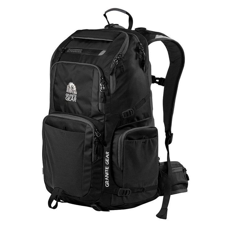 Granite Gear Jackfish 17-inch Laptop Backpack, Black