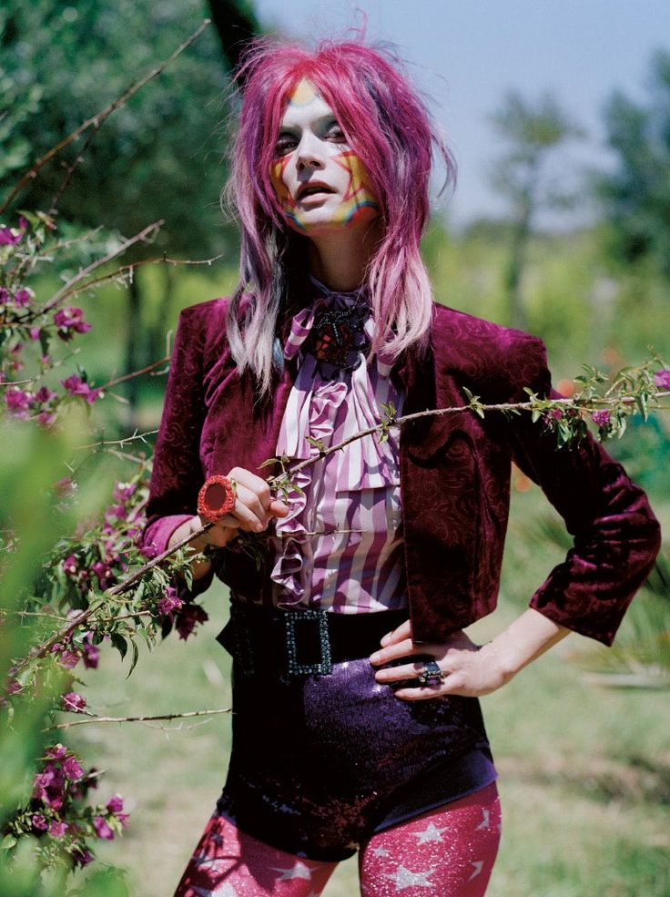 Malgosia Bela for Vogue UK December 2012 by Tim Walker