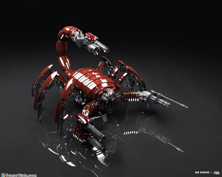 3d Robots Images (hdwallpapers3d, 2013)