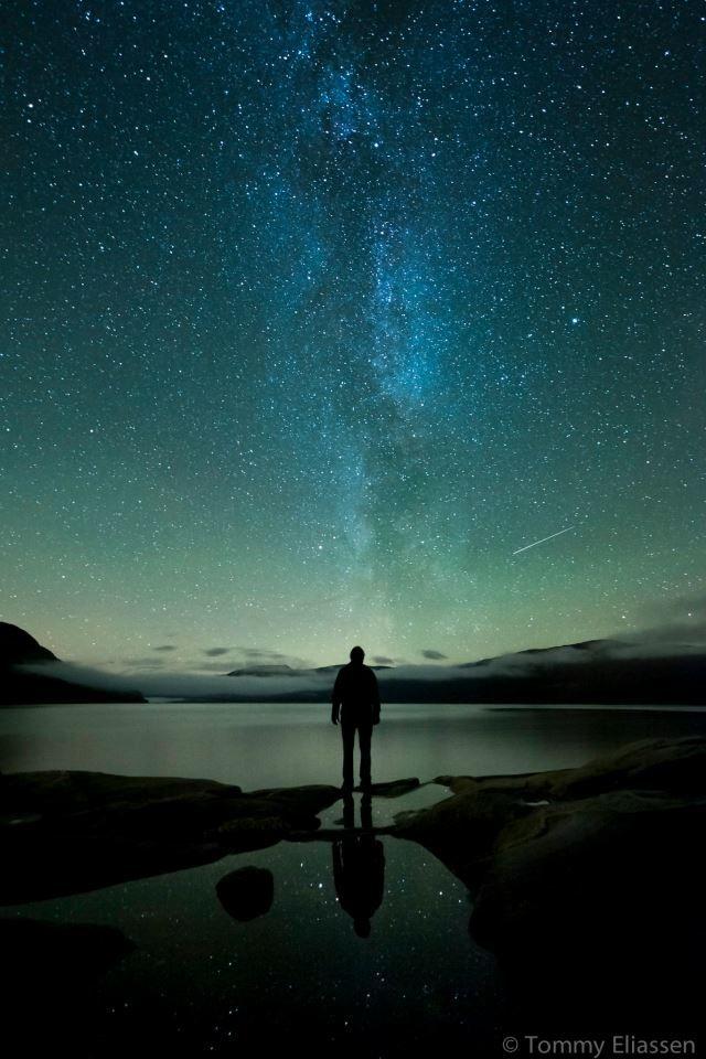 Nightsky over Hemnes, Norway on September 24th, 2012.  Nikon D700, 14-24mm.  Tommy Eliassen Photography