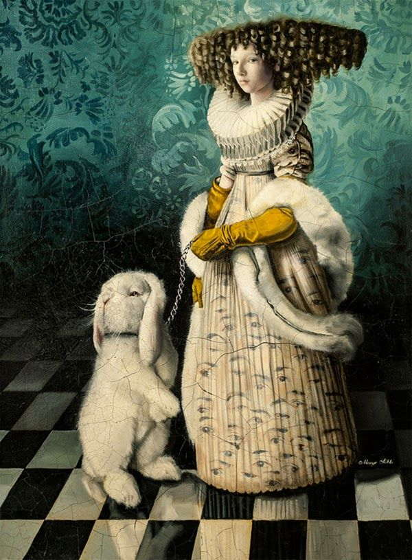 Down the Rabbit Hole: Paintings by Margo Selski