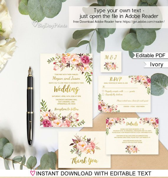 Best 25+ Wedding invitation templates ideas on Pinterest Diy - invitation template word