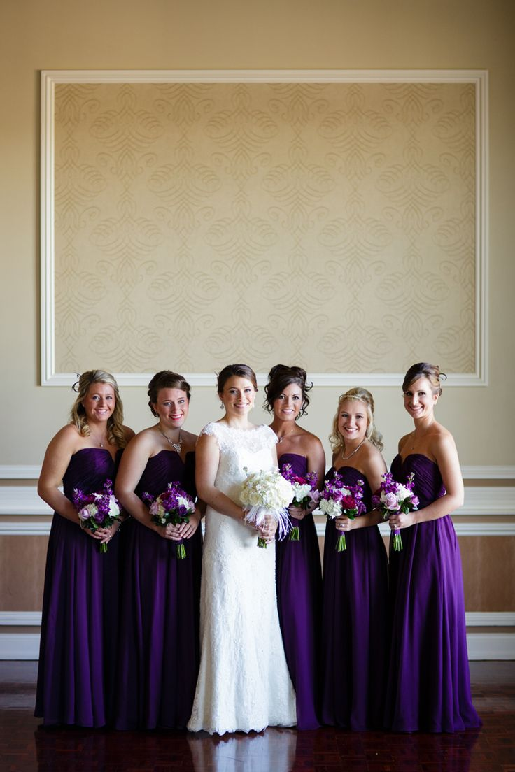 527 best Bridesmaid Dresses, Styles and Bouquets images on Pinterest