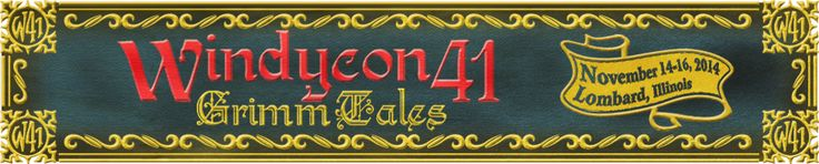 There are 2 easy ways you can register for Windycon 41!      Use our Handy Online Registration System     Download and fill out our Registration Form  Deadline for Pre-Registering is: October 24, 2014