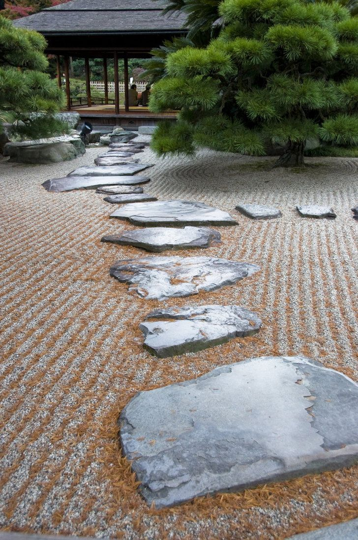Japanese Zen Garden by ~IainInJapan