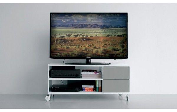 Porta tv su ruote con cassettiera idee per la casa nel