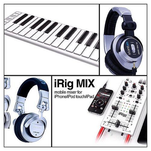 New CME Xkey midi keyboard controller, Stanton DJ pro 2000 and DJ pro 3000 pro DJ headphones, iRig Mix portable iPad iPhone iPod DJ mixer. New shipment landing and available in store today @ Eccessive Records Pro DJ Shop.  :  )