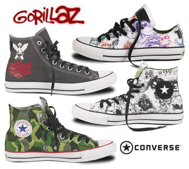 Gorillaz converse x