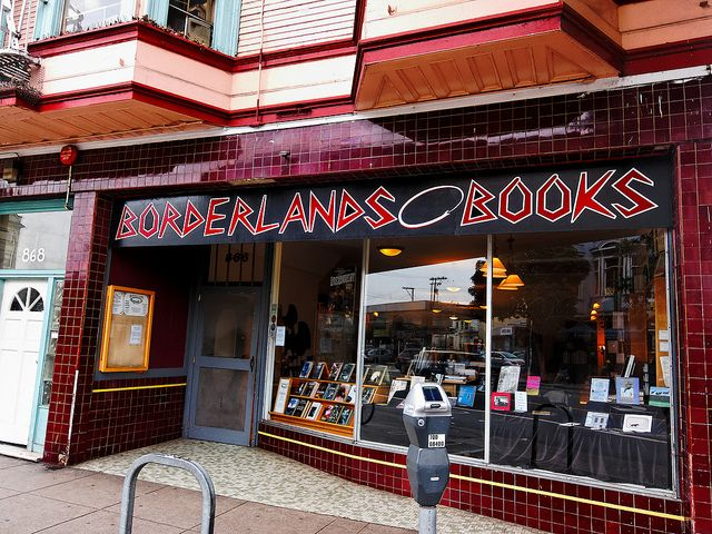 Borderlands Books - cool things to do in San Francisco on GlobalGrasshopper.com