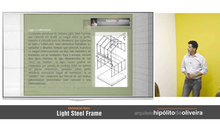 Palestra Construção Seca em Light Steelframe