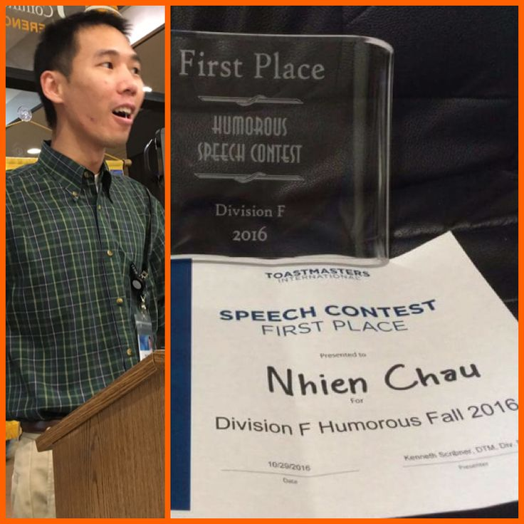 writing a humorous speech toastmasters