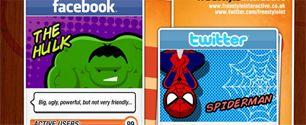 Eger sosyal aglar super kahraman olsalardi... #in