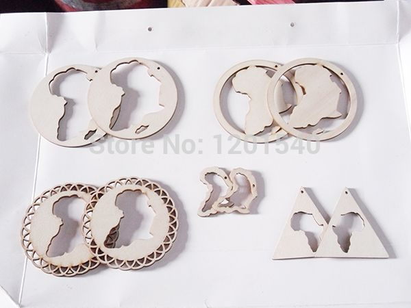 Cheap earrings rock, Buy Quality earrings acrylic directly from China earring retainers Suppliers: type Unfinishedafrica mapmixed designs wooden earrings piecesmaterial  &