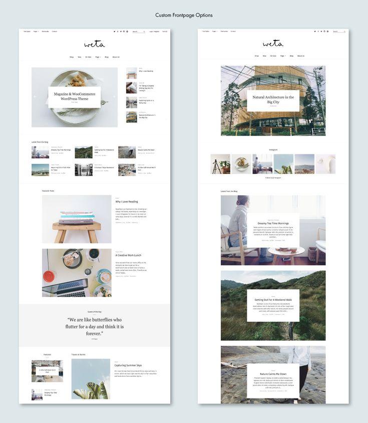 Endlich ist es soweit und wir freuen uns riesig dir unser neuestes WordPress-Theme Weta für Magazine, Blogs und WooCommerce-Shops vorstellen zu können. Weta hat ein wunderschön klares, minimalistisches Design und jede Menge praktische Optionen, so dass du deine Webseite ganz individuell nach deinen Bedürfnissen einrichten kannst.