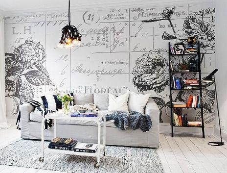 "Rebel Walls - Designer Wallpaper from Sweden ""Wall murals that revolutionize the room"" - Johanna Ek, Designer"