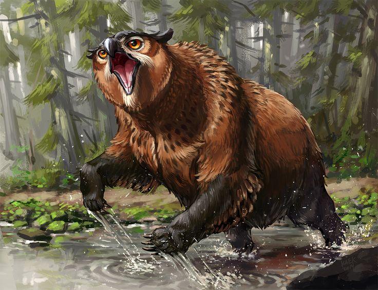 Resultado de imagem para owlbear