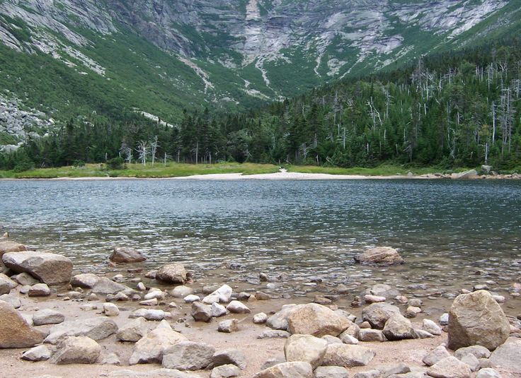 Chimney Pond at the base of Mount Katahdin