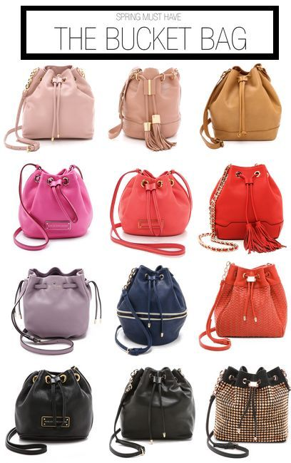 Spring must have: bucket bags #Shopbop #MakeTheOutfit ...