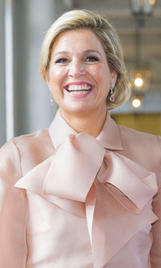 Dutch Queen Maxima in Sweden Oct. 14, 2013
