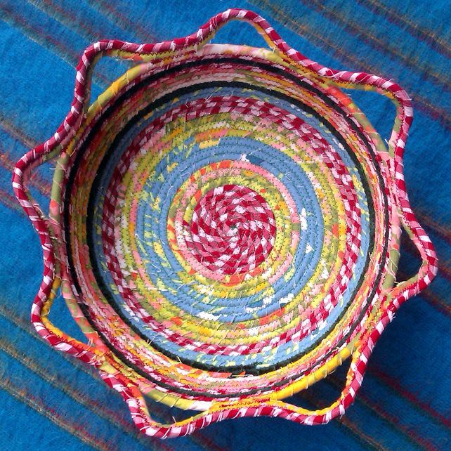 Coiled Rag Rug Instructions: 1000+ Images About Coiled Fabric Bowls And Baskets On