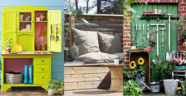Stuva undan dynor och redskap: 25 idéer för smart förvaring i trädgården | Land