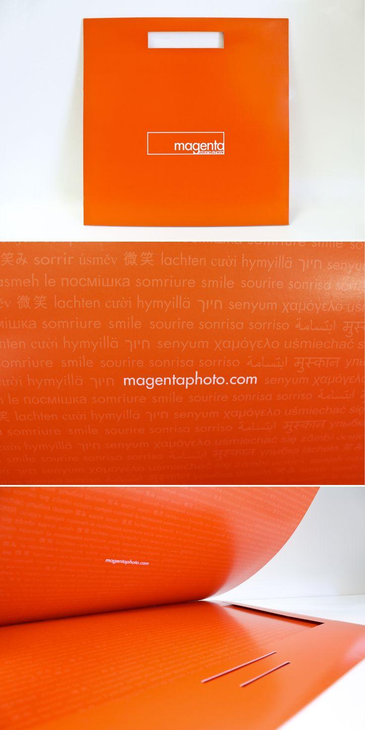 Emballage conçu pour Magenta studio photo