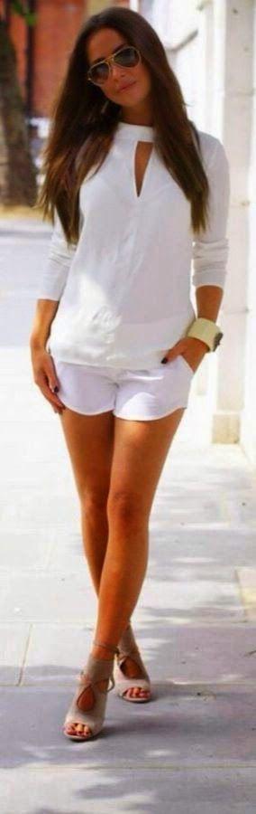 Summer White Chic.