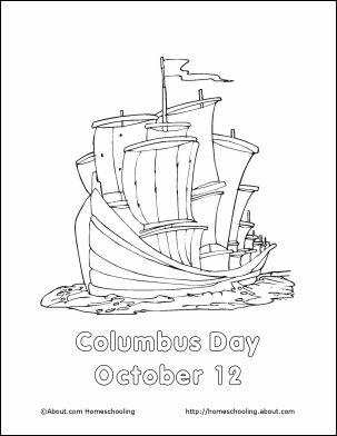Columbus Day Acrostic Poem Free Printable Worksheet for Kids