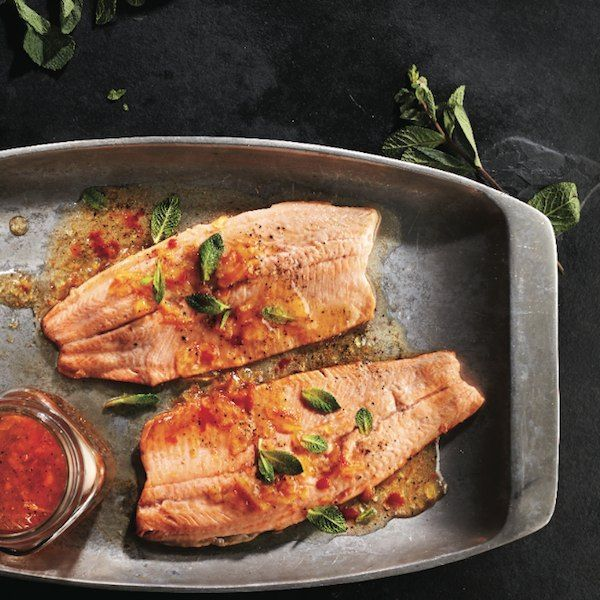Sweet and spicy grilled rainbow trout - Chatelainehttp://www.chatelaine.com/recipe/bbq-and-grilling/grilled-rainbow-trout/