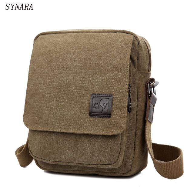 Check lastest price New Men Messenger Bags Canvas Men Handbags Spring and Summer Travel Bags 3 Colors 21*26*8CM Srtip 150CM D7003 just only $13.08 with free shipping worldwide  #crossbodybagsformen Plese click on picture to see our special price for you