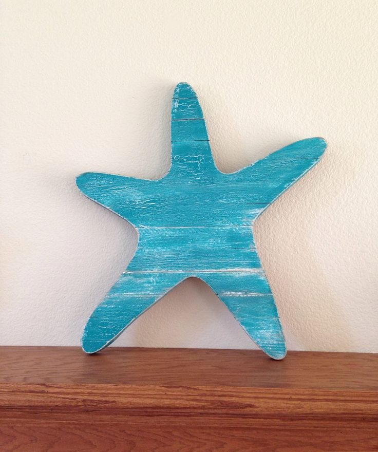 Over-sized Pallet Starfish, coastal decor, rustic beach decor, surf decor by NCSustainableStyle on Etsy