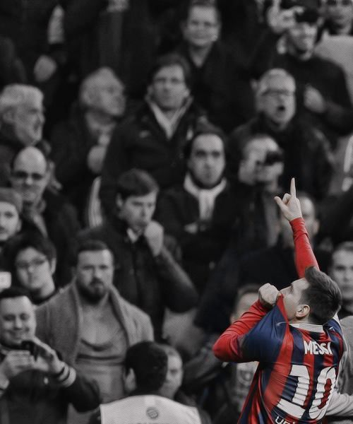 Lio Messi in Santiago bernabeu