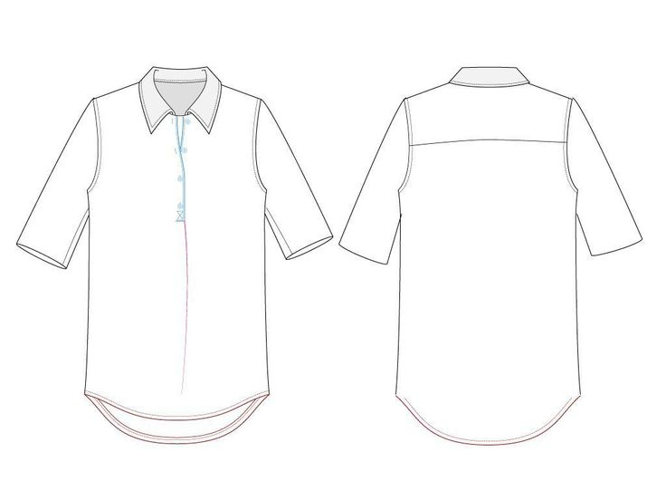 (9) Name: 'Sewing : Downloadable pattern-shirt with tail