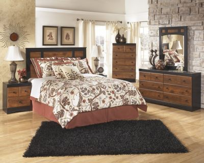 Ashley Aimwell 4-Piece Queen Headboard Bedroom Set