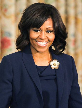#FirstLady Of The United States 🇺🇸#MichelleObama Happy World Smile Day😀😊😀 World Smile Day October 7, 2016 is celebrated on the first Friday in the month of October every year. The idea of World Smile Day was coined and initiated by Harvey Ball, a commercial artist from Worcester, Massachusetts. Harvey Ball is known to have created the Smiley Face in 1963 #WorldSmileDay
