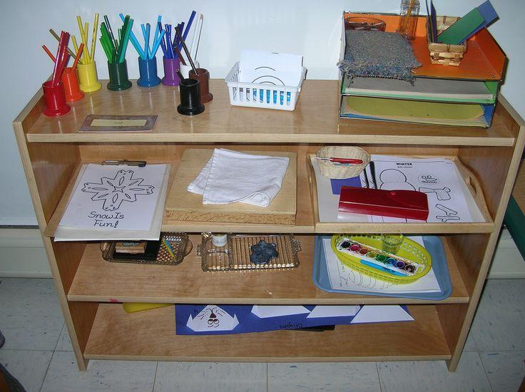 Classroom Shelves Ideas ~ Best montessori shelves art images on pinterest