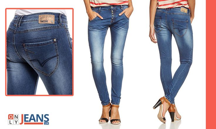 It's time to embrace the all new trend of Timezone Women's Rivatz Jeans with a perfect fitting and style!