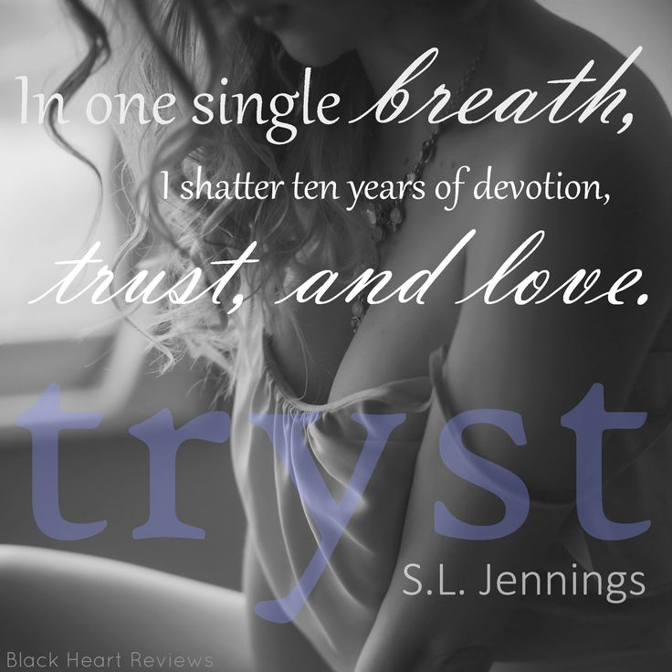Tryst by S.L. Jennings