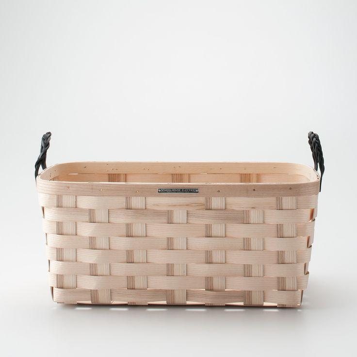 White Ash Storage Baskets / School House Electric