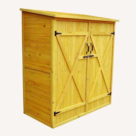 Leisure Season 5x3 Medium Wood Storage Shed Kit