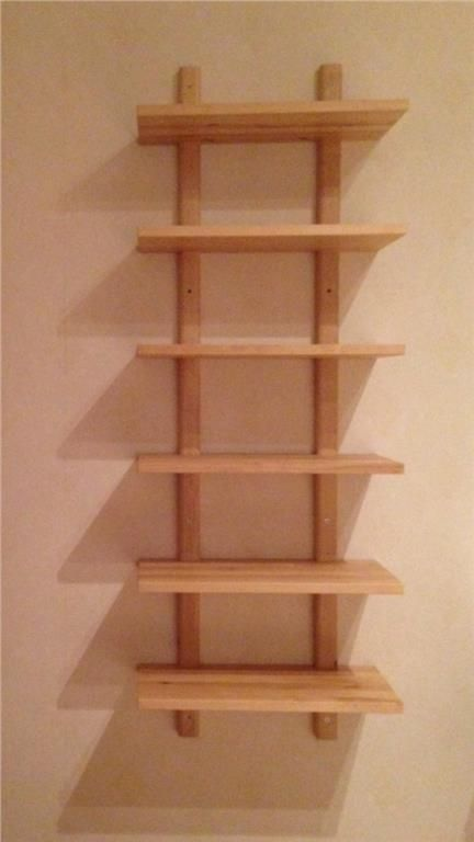 Vägghylla på Tradera.com - Hyllor - Förvaring | Förvaring | Möbler | Hem